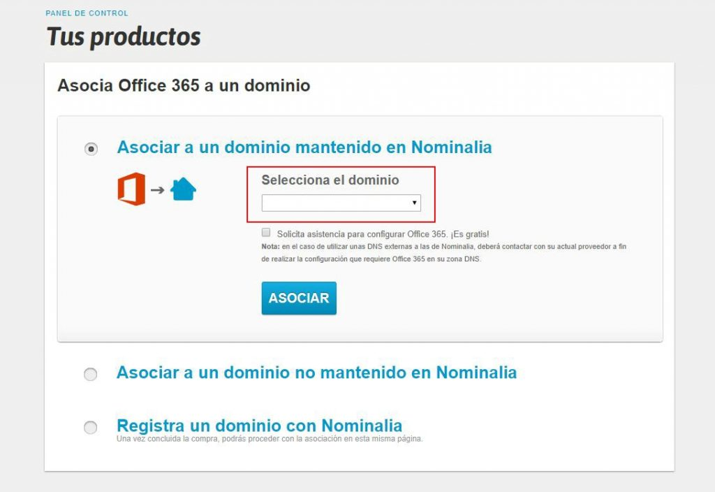 Configurar email Office 365