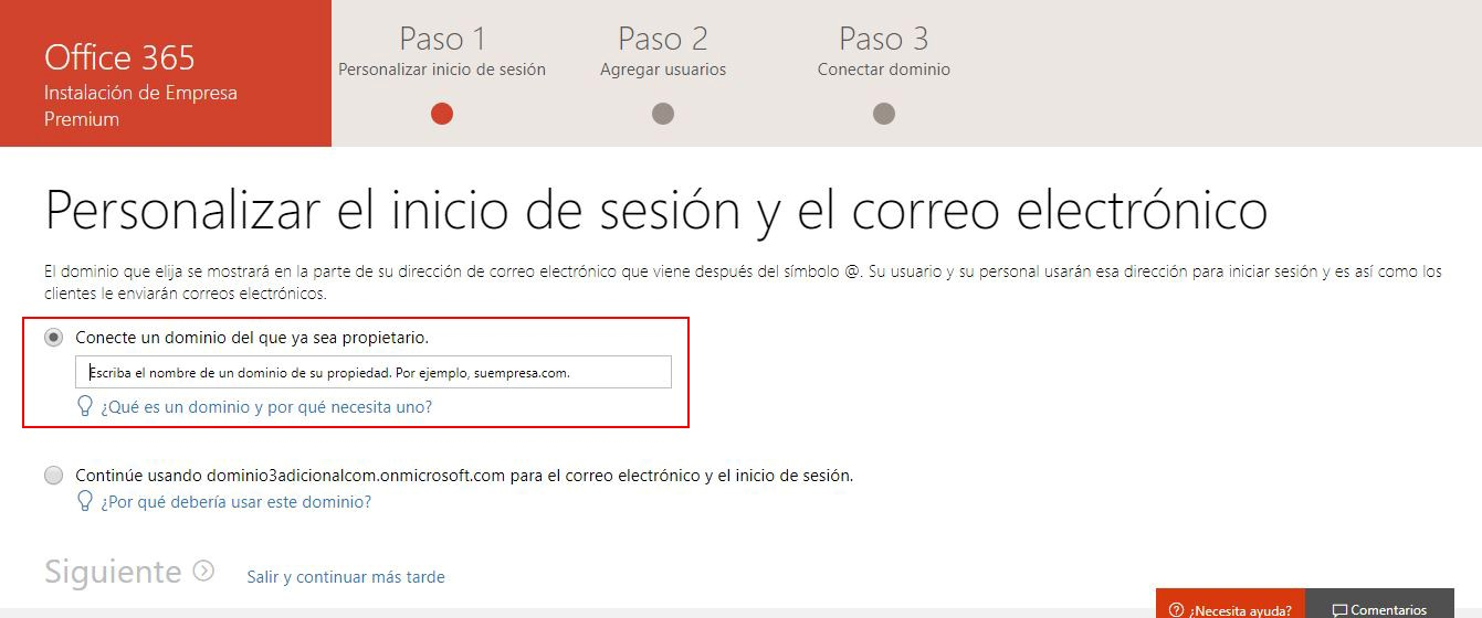 Configuración Office 365 paso a paso