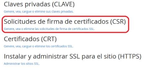 Obtener fichero .CRT