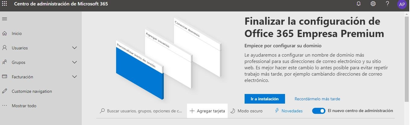 Configurar Microsoft 365