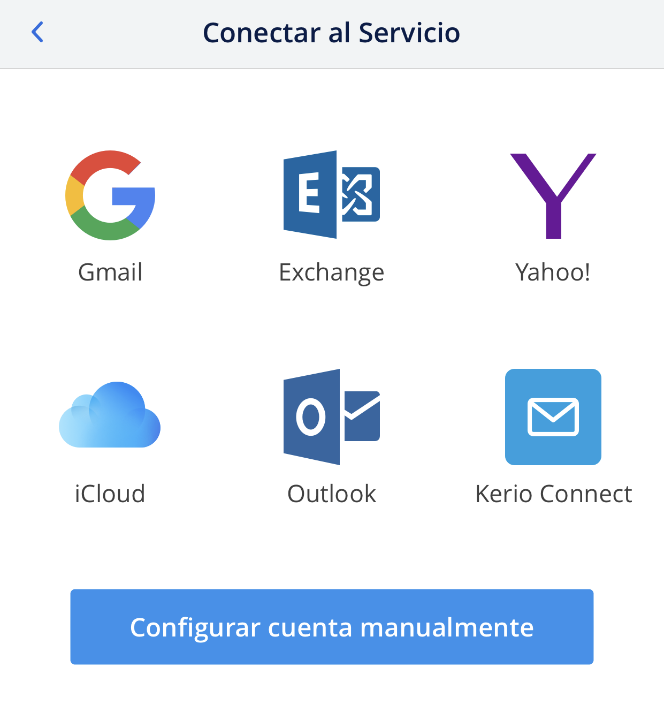 Cómo configurar tu cuenta de correo de Nominalia en Spark