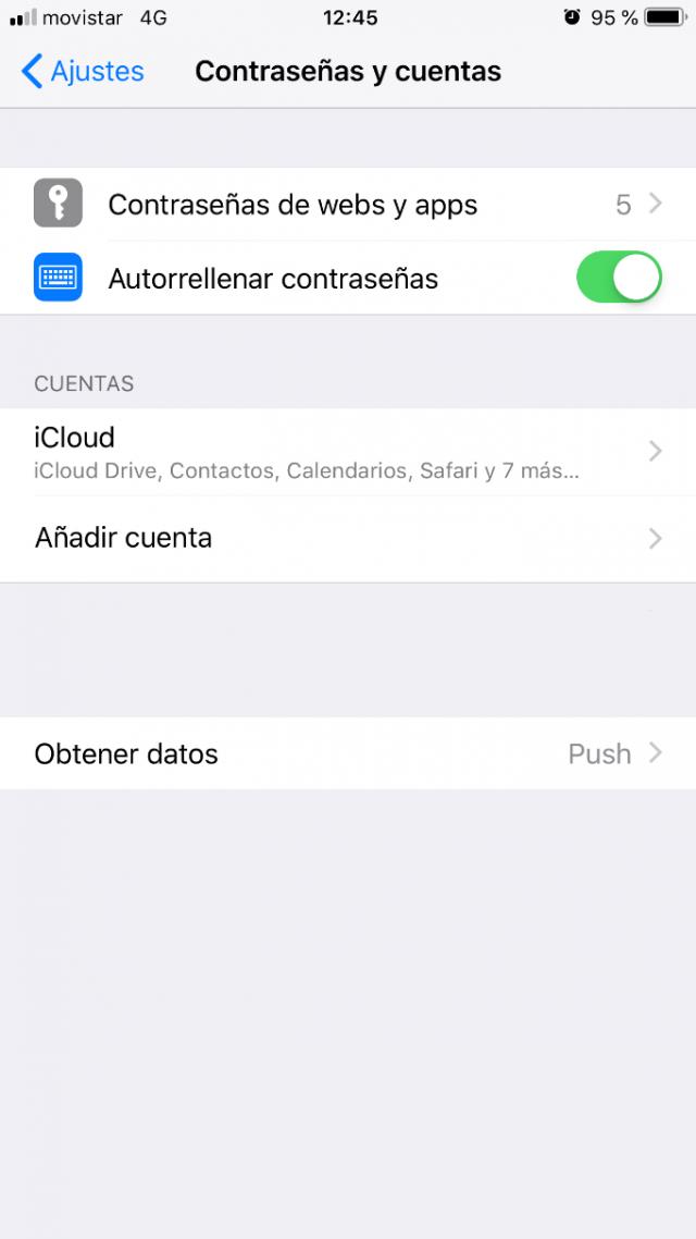 Imagen 2 - Configurar correo en iPhone o iPad (y iPod) Añadir cuenta