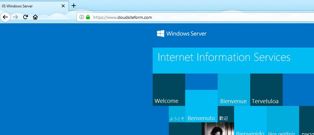 Imagen 13 - Cómo instalar un certificado SSL en Windows Server 2016 HTTPS Activado
