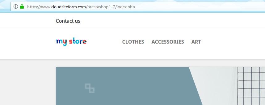 HTTPS en Prestashop