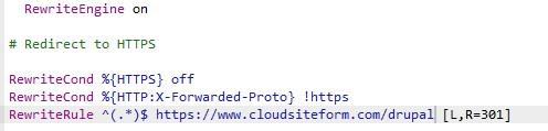HTTPS en Drupal
