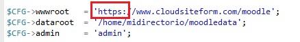 HTTPS en Moodle