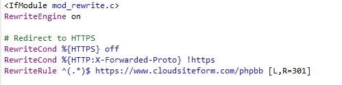 HTTPS en phpBB
