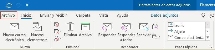 Configura tu Outlook 2013 paso a paso