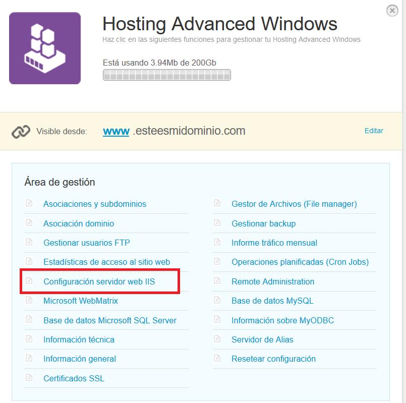 activar soporte php en Windows